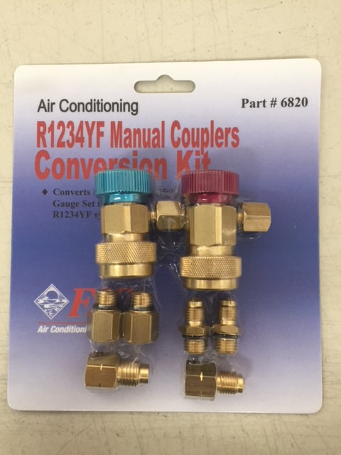R1234YF Guage Conversion Kit FJC 6820